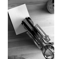 Presse à gaufrer, Modèle standard, Max. 50 x 50 mm